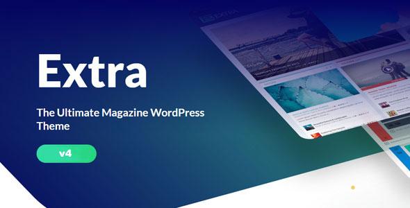 Extra v4.11.3 – Elegantthemes Premium WordPress Theme